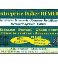 Ferronnerie Serrurerie – HEMERY